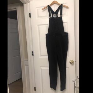 Old Navy black overalls